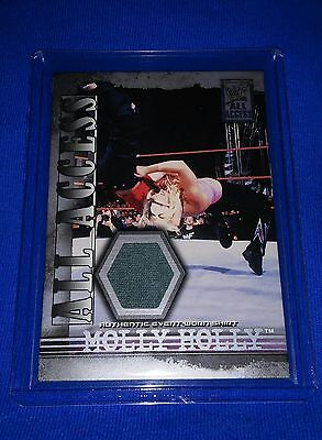 Molly Holly 2002 Fleer Authentic Event Used Shirt card All Access wwf Styles