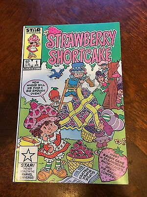 STAR COMICS STRAWBERRY SHORTCAKE #1  first edition APR 1985 EX CONDITION cereal