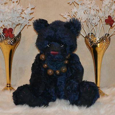 """Charlie bear mohair Atlantic 17"""" number 333 of only 400 made!"""