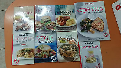 cooking, fitness booklets incl 1 DVD