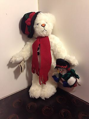 """Ganz Cottage Collectibles -- Sue Coe """"Snowbear"""" -- with tags"""