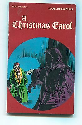 """A Christmas Carol"", by Charles Dickens, Pocket Classics, comics adapt., 1984"