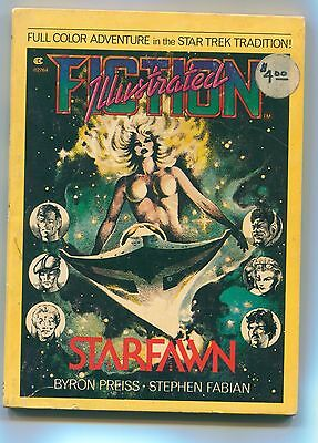"Fiction Illustrated #2 1976 ""starfawn"" / Illustrated Color Digest Stephen Fabian"
