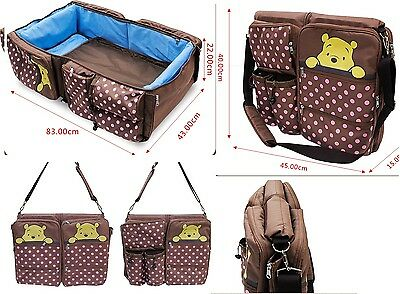 In stock  Baby Portable  bed ,  and baby bag with insulated pockets