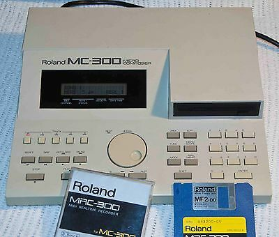 Roland MC-300 vintage Real Time Recorder/Sequencer, with extras.