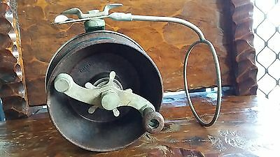 Alvey 5inch star drag vintage fishing reel