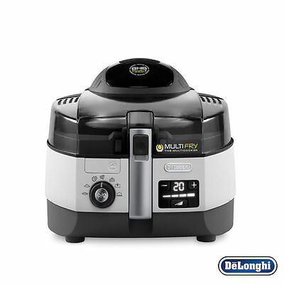 Delonghi FH1394 Multifry Extra Chef Low-Oil Fryer Multicooker 1.7 KG Kitchen