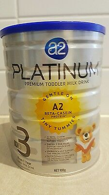A2 Platinum Stage 3 Premium Toddler Milk Drink 900g. Brand New.