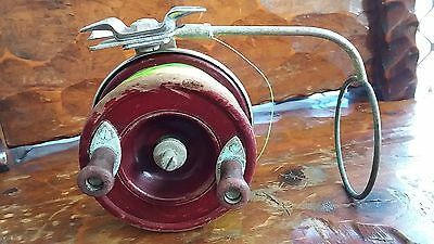 Vintage Alvey wooden fishing reel 4inch