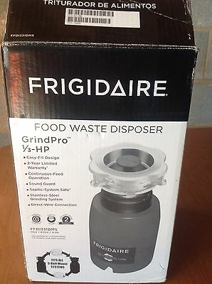 Frigidaire GrindPro Garbage Disposal 1/3hp  Food Waste Disposer