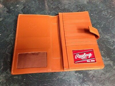 Rawlings Premium Heart Of The Hide Leather Passport Wallet
