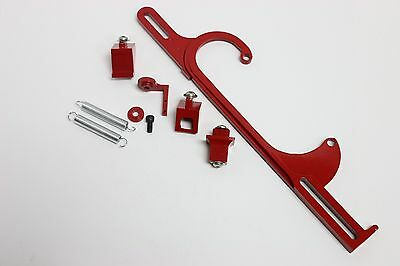 Holley 4150 4160 Red Aluminum Throttle Cable Carb Bracket Carburetor 350 SBC