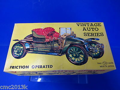 T.N NOMURA JAPAN Vintage Auto Series Friction operated Oldtimer No 2