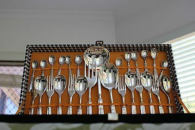 Vintage baglionsilver cutlery set Made in Italy