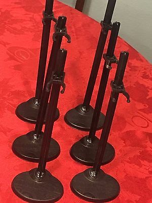 Lot of 6 Monster High Doll Stands