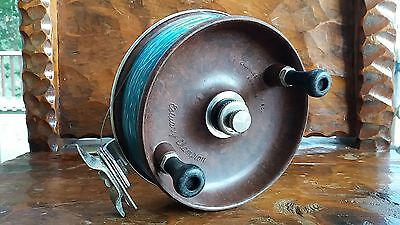 Vintage Alvey 600 a1 estuary champion fishing reel