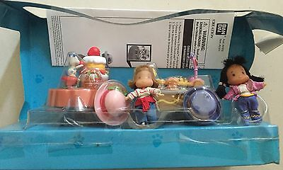 Strawberry Shortcake Miniland Set Inc 2 Mini Figurines