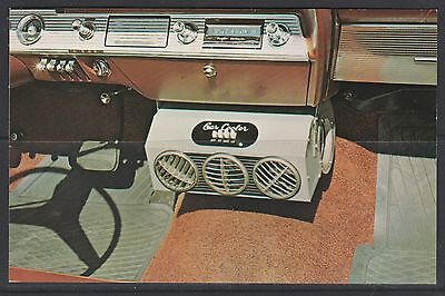 US Postcard Car Cooler Advertising PC Car Air Conditioning Free Post Australia