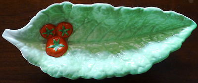 ROYAL WINTON - GRIMWADES    Green Cabbage Leaf Serving Dish     Price Reduced