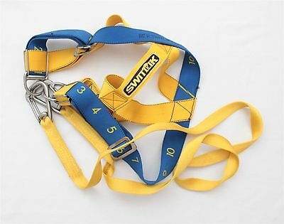Switlik Blue and Yellow Parachute Straps S-1424