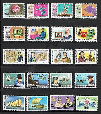 Maldive Islands - Stamps Selection X 20 MNH