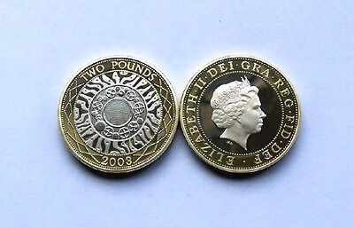 2003 proof  Two Pound