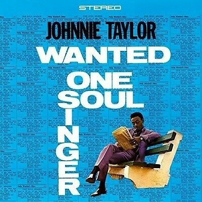 Johnnie Taylor - Wanted One Soul Singer   Vinyl Lp Neu
