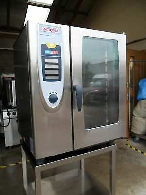 Rational 10 Grid Electric Combi Oven with Stand