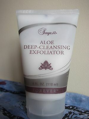 Forever Living Aloe Deep Cleansing Exfoliator Sonya NEW full size 4fl.oz. sealed
