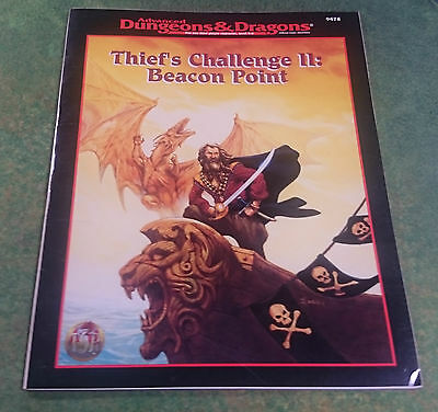 Thief's Challenge II: Beacon Point | AD&D 2nd | TSR9478