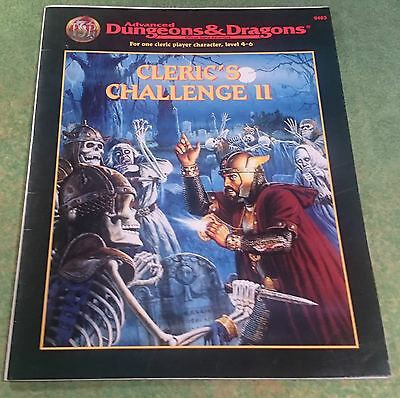Cleric's Challenge II | AD&D 2nd | TSR9483