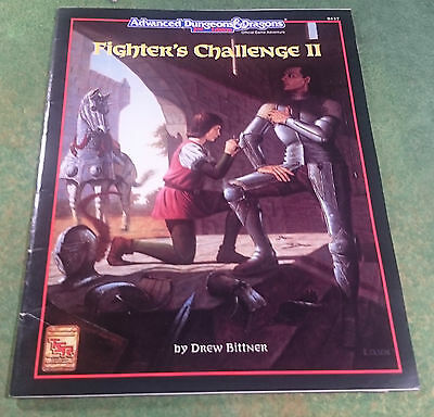 Fighter's Challenge II | AD&D 2nd | TSR9427
