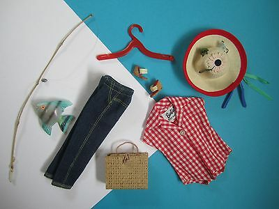 Barbie Vintage Complete Outfit PICNIC SET #967 Mint Exc Free Shipping USA