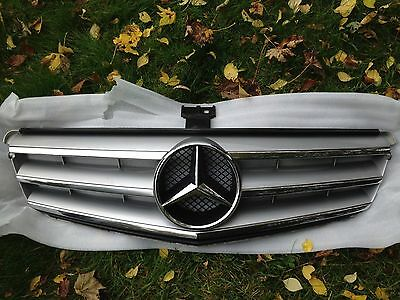 Genuine Mercedes W204 C Class AMG Sport Front Grill 2007-2014 Saloon or Estate