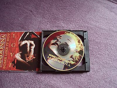 """Rare Live Madonna """"some Like It Hot"""" 2 Silver Cd"""