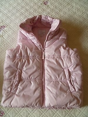 Girls Next pink gilet (age 7-8 yrs)