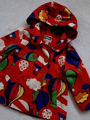 Girl Ballons Print Spring / Autumn Jacket Coat By NEXT Age 3-4 Years
