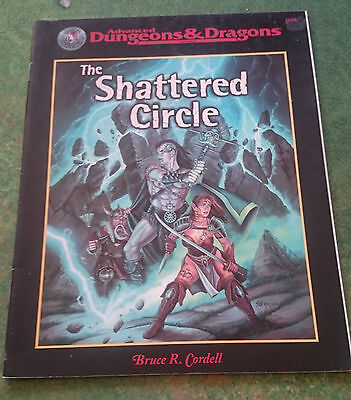 The Shattered Circle | AD&D 2nd | TSR11325