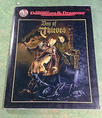 Den of Thieves | AD&D 2nd | TSR9515