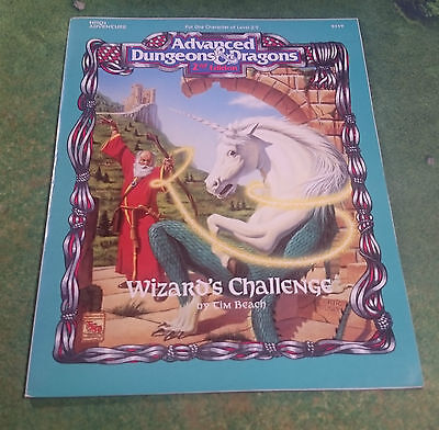Wizard's Challenge | AD&D 2nd | HHQ2 | TSR9359