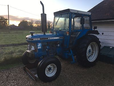 Ford 6610 tractor 2wd low hours 82 bhp 1986 like 5610 7610.