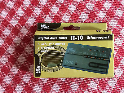 Digital Guitar Tuner - VOLT IT-10 for acoustic, electric & Bass