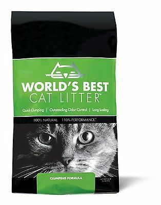 Worlds Best Cat Litter Bag Clumping Formula 6.35kg 6.35 kg Litter/Original