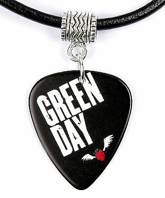 Green Day American Idiot Guitar Pick Necklace