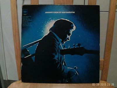 Johnny Cash At San Quentin Vinyl LP Album