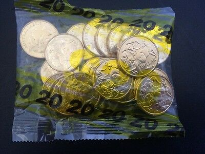 $1 - 1x Bag 2016 Standard/Mob Of Roos One Dollar Coins