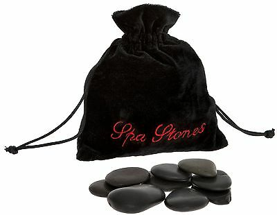 Out of the Blue Spa Hot Rocks Relaxing Massage Stones Multi-Colour Pack of 9