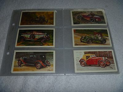 Grandee Cigarette/Cigar Cards FAMOUS MG MARQUES - Set of 28 in Sleeves