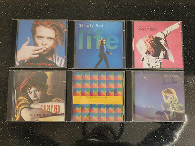 Simply Red 6 X CD