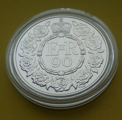 Royal Mint  £5 Her Majesty The Queen 90th Birthday Five Pound Crown Coin BU 2016